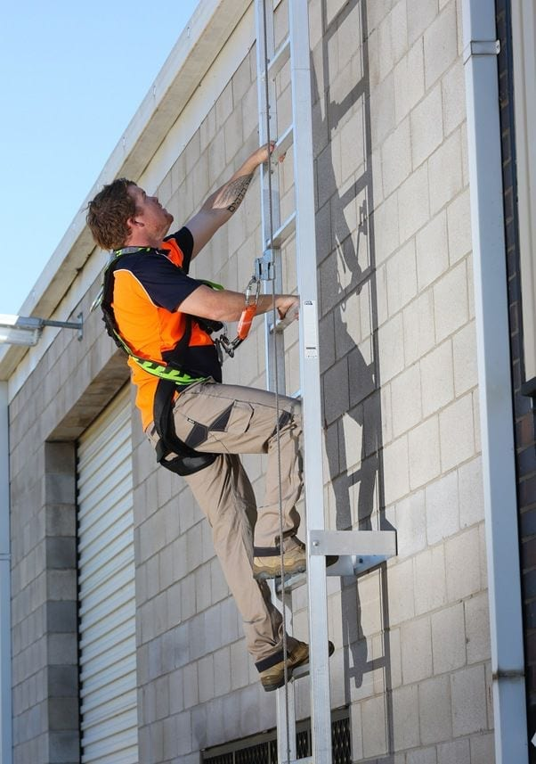 Height Safety Ladder Systems Anchor Safe