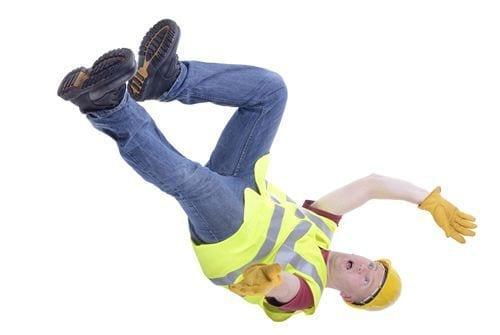 Employee falling