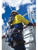How to inspect harnesses and lanyards for damage