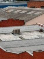 Ensuring safety around brittle and fragile roofs