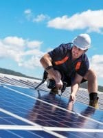 Solar panel installation a specialist job