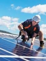 Solar panel installation a specialist job
